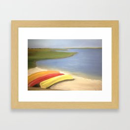 Chappy Kayaks Framed Art Print