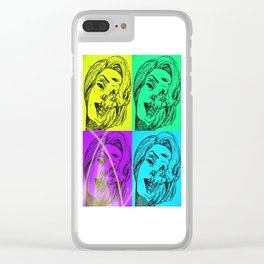Monroe To Death Clear iPhone Case