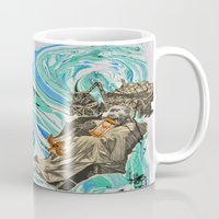 political Mugs featuring Political Tensions by Quinten Sheriff