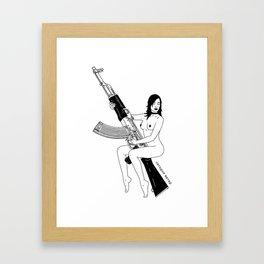 Ak 47 Framed Art Print