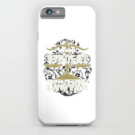 Future Lawyer Gift Law School Student I'm Almost A Lawyer Graduation Gift iPhone Case