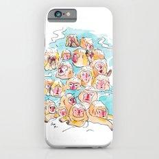 Wild Family Series - Snow Monkey Slim Case iPhone 6s