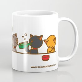 Eggman Comics - Cat Party Coffee Mug