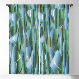 Another Green World Blackout Curtain