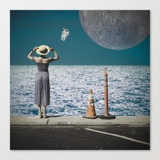 Life from another Planet Canvas Print