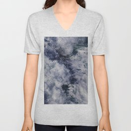 Waves #1 Unisex V-Neck