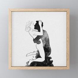 L'amour. Framed Mini Art Print