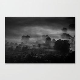 Mist at Mam Tor Canvas Print
