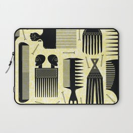 Comb Trough yellow Laptop Sleeve