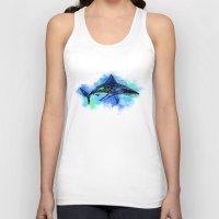 shark Tank Tops featuring Shark by Riaora Creations