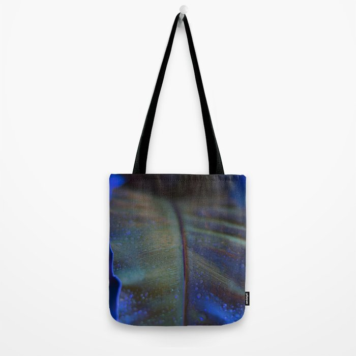 The Night Garden Blue Tote Bag
