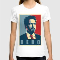 sansa stark T-shirts featuring Tony Stark by Cadies Graphic