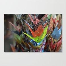 Origami Strand Canvas Print