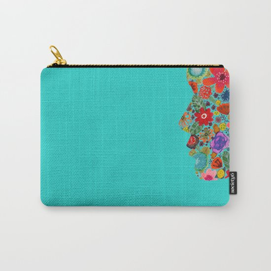 dream on, little flower Carry-All Pouch