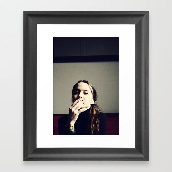 Untitled Portrait Framed Art Print