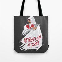lee pace Tote Bags featuring Requiescat In Pace by shutupjade