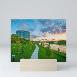 The Lower Scioto Greenway Mini Art Print