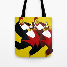Chanticleer Egg Liqueur, made by real chickens Tote Bag
