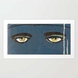Gatsby Stare  Art Print