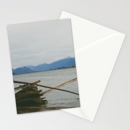 River and Mountains Stationery Cards