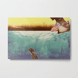 Under Water Metal Print
