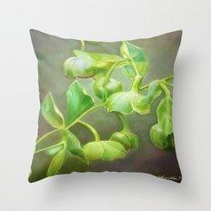 Think Green Throw Pillow