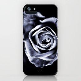 Silver Petals iPhone Case