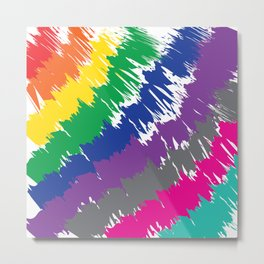 Happy Colours Metal Print