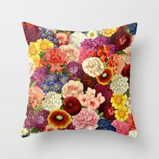 Spring Explosion Throw Pillow
