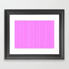 the Line Framed Art Print