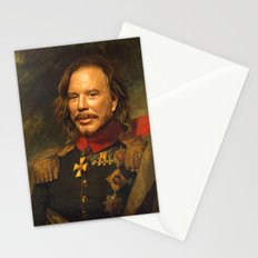 Mickey Rourke - replaceface Stationery Cards