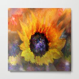 Sunflowers Art Metal Print