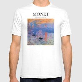 Monet - Impression, Soleil Levant T-shirt