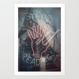 Psychic Readings Art Print