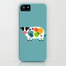 Awesome Cow iPhone Case
