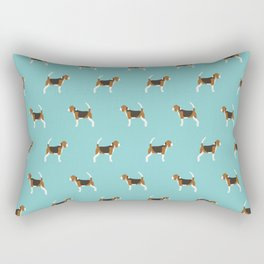 Beagle Design - beagle pillow beagle phone case beagle home decor Rectangular Pillow