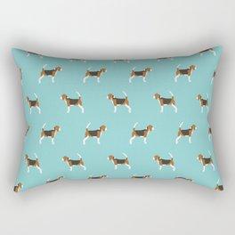 Beagle Design - beagle pillow beagle phone case beagle home decor Rectangular Pillow