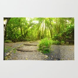 Nature Panorama Rug