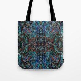 Galactic storm trio mosaic IV Tote Bag