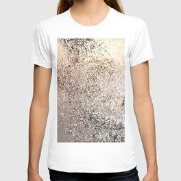 Sparkling GOLD Lady Glitter #1 #decor #art #society6 T-shirt