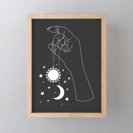 Just Right Framed Mini Art Print
