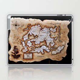 Map to the Afterlife Laptop & iPad Skin