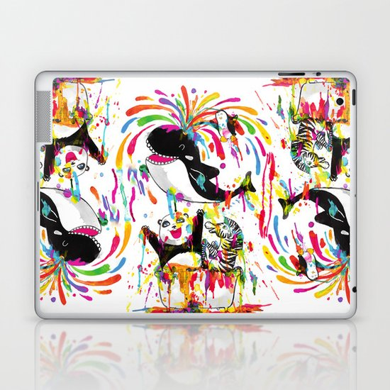 Yay! Bath Time! Laptop & iPad Skin
