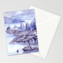 Fjord Monochrome Stationery Cards
