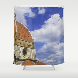 Duomo's Cupola - Florence Shower Curtain