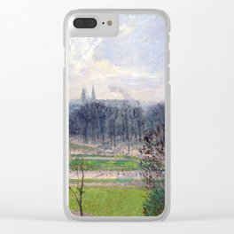 Camille Pissarro The Garden of the Tuileries Clear iPhone Case