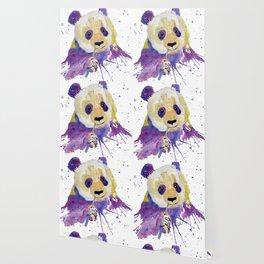 Purple Panda Bear Wallpaper