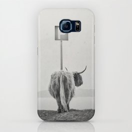 highland visitor iPhone Case