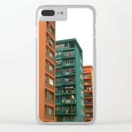 Colors of homes Clear iPhone Case
