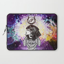 Goddess Isis and the Reigning Light Laptop Sleeve